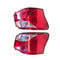 Fits Left and Right Tail Light Lamp A pair for Isuzu MU-X MUX SUV 11/13 - 01/2017