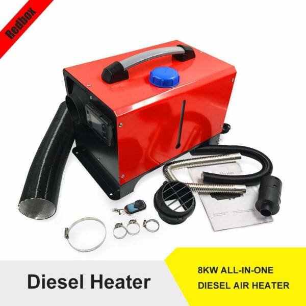 Diesel Air Heater Fits 12V 8kW RV Parking Heater w/ LCD Remote Control