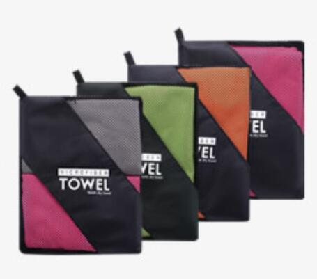 Microfiber Travel Towel Sport Beach Towels Ultra Absorbent & Quick Dry 40*80CM