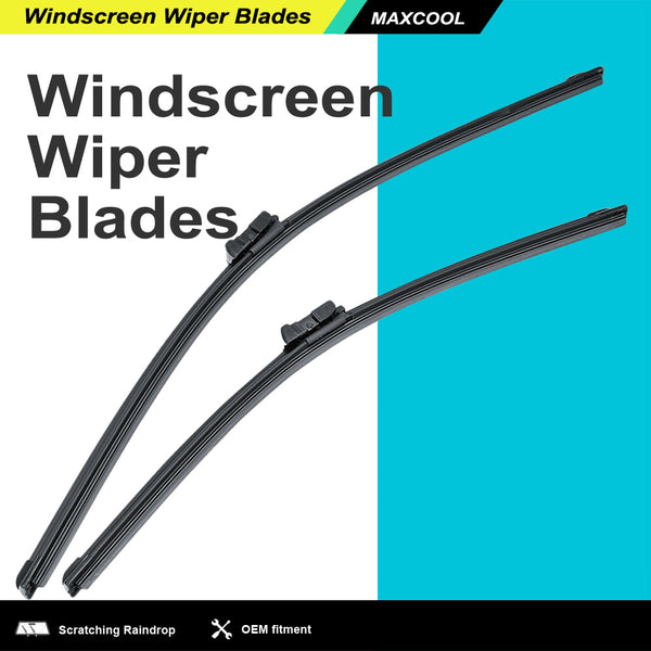 2PCS 24 +19 Windscreen Front Wiper Blades For Volkswagen PASSAT CC 05-11 AU