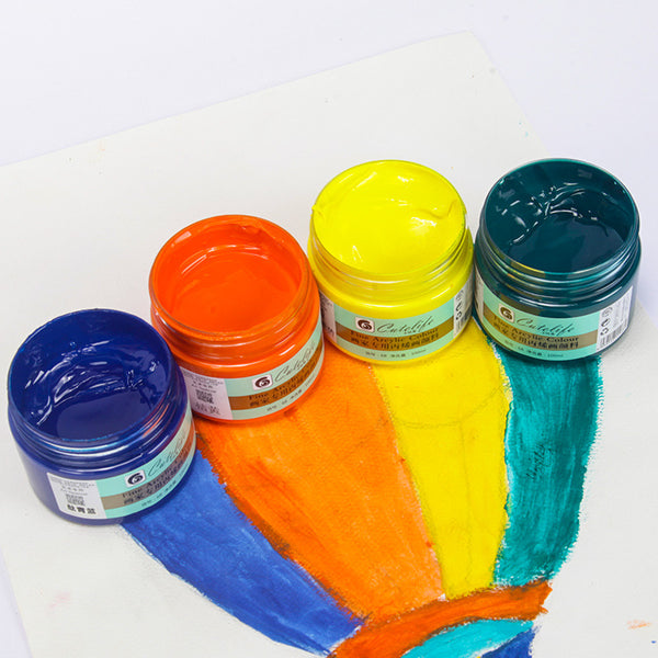 Pearl & Metallic Paints 100ml Bottles - 24 Colors Available