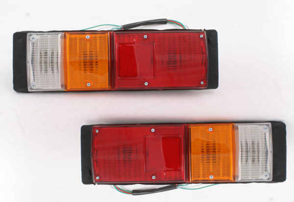 1X Tail Lights Lamps FITS Holden Rodeo Tray Back Ute KB TF RA 81-06
