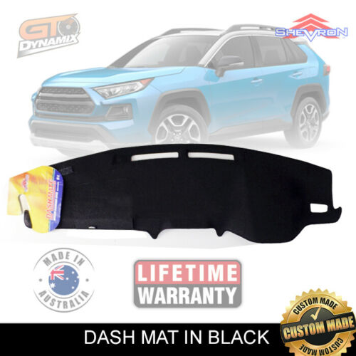 BLACK DASH MAT fits for TOYOTA RAV 4 MXAA52R GXL GX Cruiser Edge 1/2019-2020 DM1566