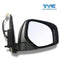 Fits Right Electric Door Mirror Chrome For Mitsubishi Triton Ute MN ML 06~15