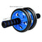 FITS AB Abdominal Roller Wheel Fitness Waist Core Workout Exercise Gym Free Knee Mat