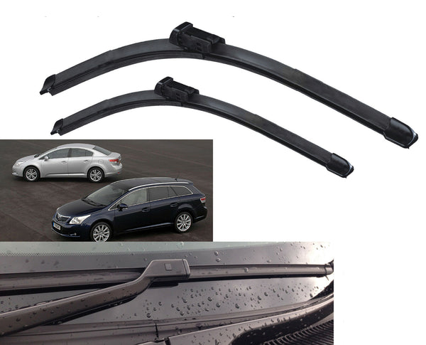 FITS Toyota Avensis 2009-Onwards FRONT WINDSCREEN WIPER BLADES