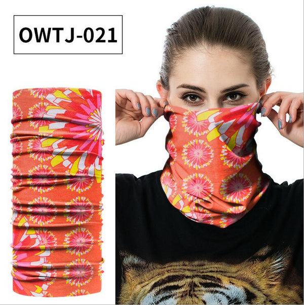 2pcs Outdoor Bandana Fishing Durag Neck Scarf Headwear UV Mask