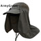 Men Fishing Camping Hiking Mask Sun UV Protection Outdoor neck cover Hat Cap