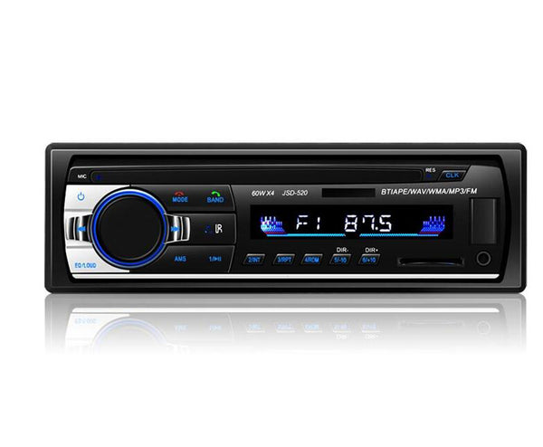 Car Radio Stereo DVD CD Player MP3 USB/SD/FM/AUX-IN In-Dash LCD Display 1 Din UK