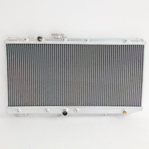 Aluminium RADIATOR for RAV4 SXA10 SXA11 FLAT MOUNTS ON TOP TANK 1994-00