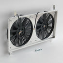 Aluminum Radiator Shroud+Fan For Mazda MX-5 NA 1.6 1.8 1989-1998