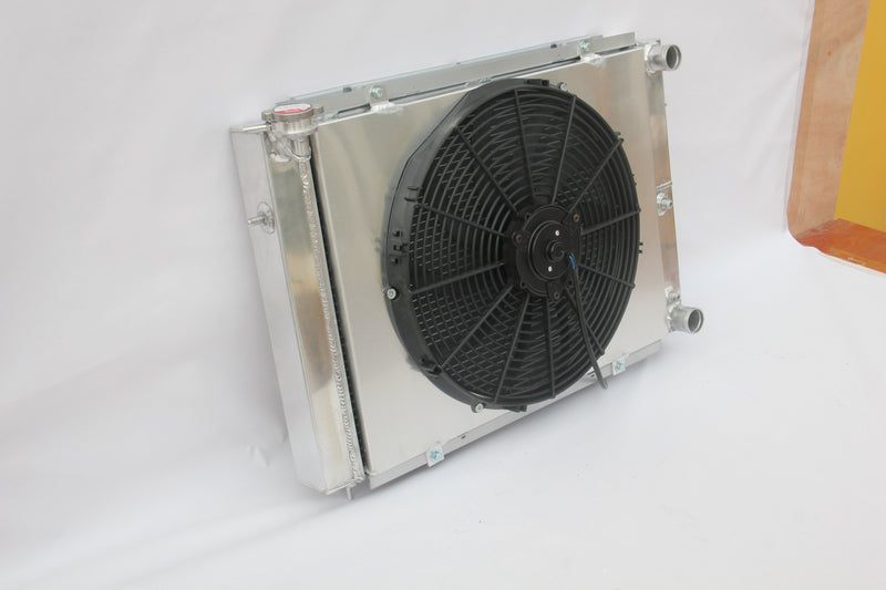 HOLDEN COMMODORE VL 3.0L ALLOY RADIATOR + CUSTOM FAN + SHROUD KIT