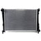 RADIATOR FORD FIESTA WP WQ PETROL 2004-2008 MANUAL