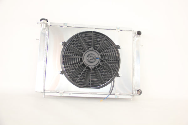 1986-1988 RADIATOR FOR COMMODORE VL 6 CYL RB30ET + FAN SHROUD ALLOY MANUAL ONLY