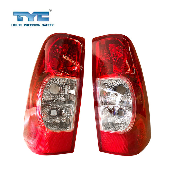 Set / Pair LH+RH Tail Light Lamp Non Tinted For Holden Rodeo RA LT Ute 2006~2008