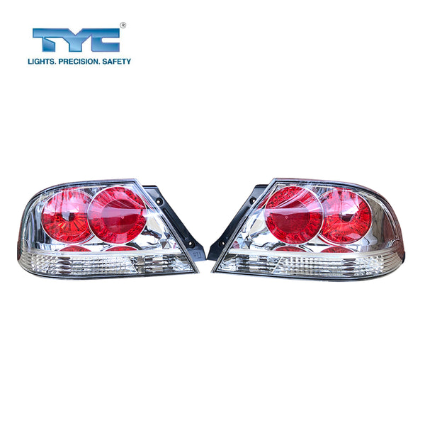 Set/Pair LH+RH Tail Light Lamp Fits Mitsubishi Lancer 4Dr Sedan CH VRX 2003~2007