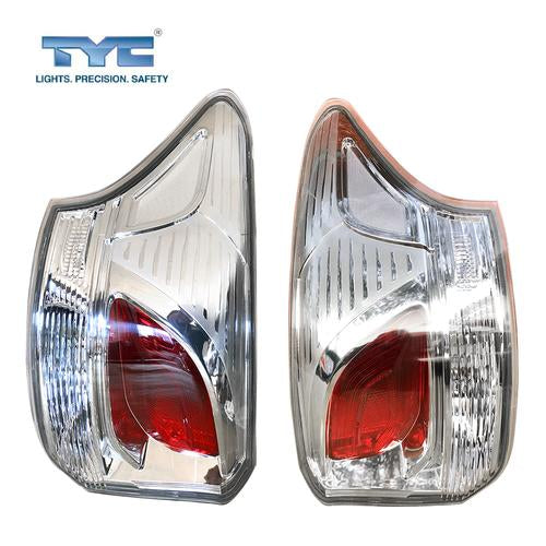Set / Pair LH+RH Tail Light Lamp (No LED) For Mitsubishi Outlander ZJ 2012~2015