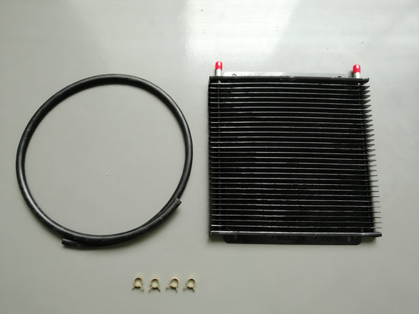 "FITS PWR HD TRANSMISSION OIL COOLER KIT 3/8"" Barbs 30-Rows"