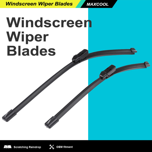Pair Front Windscreen Wiper Blades 22 18 For Holden Colorado (RG) UTE2012-17