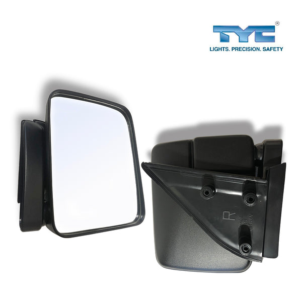 FITS Pairs Manual Door Mirror For Mitsubishi L300 Express Van SF SG SH SJ 86~04
