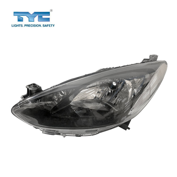 FITS LH LHS Left Hand Head Light Lamp Black For Mazda 2 DE Neo Maxx Genki 2007~2014