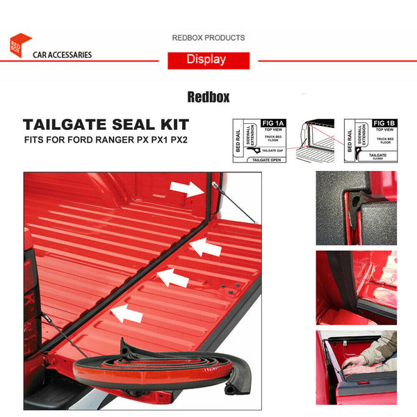 3M Tailgate Seal Kit fits Ford Ranger PX1 PX2 MAZDA Triton NAVARA DUST TAIL GATE