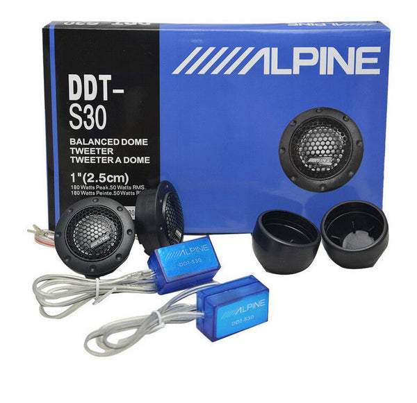 Fits DDT-S30 tweeter car refit car audio Car Speakers Tweeters Crossovers
