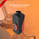 12V 2KW-5KW Air Diesel Fuel Heater For trucks Van Boats Knob Warm Winter