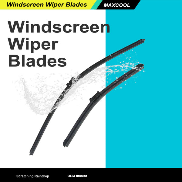 "For Ford Fiesta 08-On BRAND NEW AERO FLAT WINDSCREEN WIPER BLADES 26""15"""