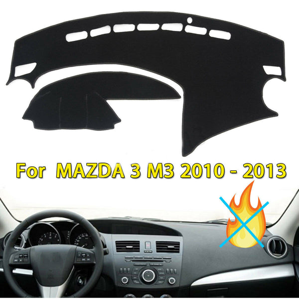 Dashboard Cover Dashmat Dash Sun Mat Carpet Board Pad For Mazda 3 2010-2013