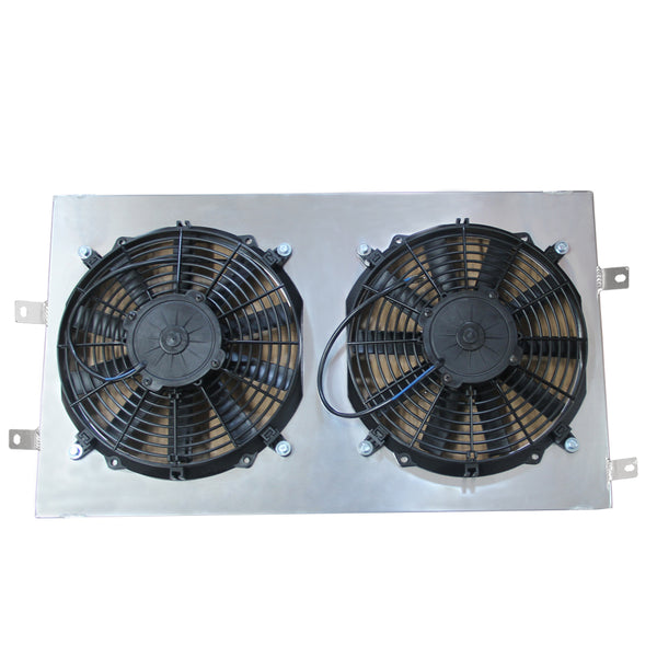 Aluminum Radiator Fan Shroud fits Ford Escort RS 1.6 Turbo Series 2 High Flow