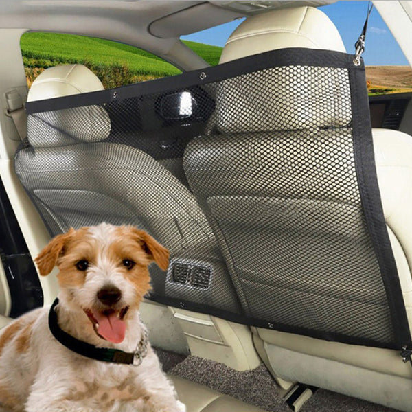 UNIVERSAL FITMENT MESH CAR VAN PET DOG GUARD BOOT SAFETY BARRIER