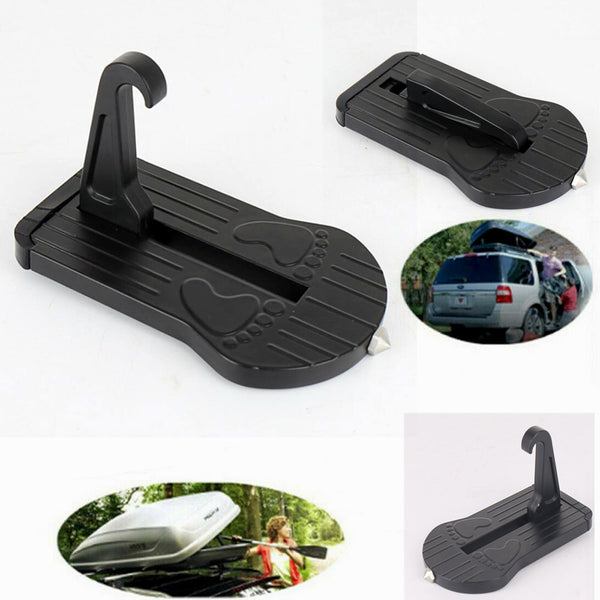 AU Folding Car Door Latch Hook Step Foot Pedal Ladder Fit Jeep SUV Truck Roof