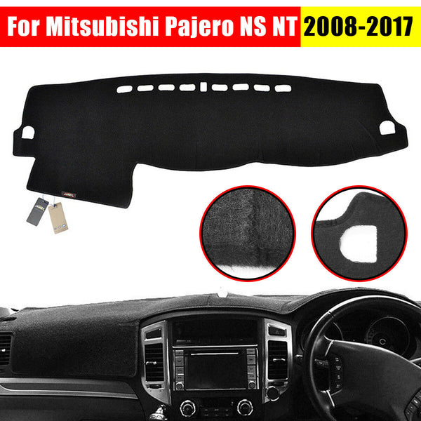 For Mitsubishi Pajero NS NT 2008-2017 Dashboard Cover Dashmat Dash Mat Pad