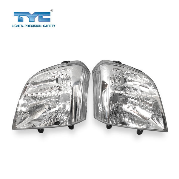 Fits Set Pair LH+RH Head Light Front Lamp For Holden Rodeo RA Series 1 2003~2007