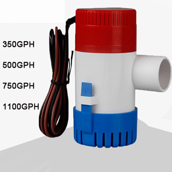 FITS 1100GPH 12V Caravan Camping Marine Submersible Bilge Water Pump Fishing Boa