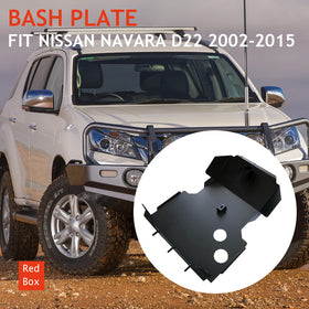 Nissan Navara D22 Bash Plate 4MM Steel Black 2002-2015