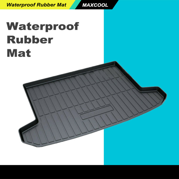 Heavy Duty Waterproof Cargo Rubber Mat Boot Liner for Hyundai Tucson 2015-2019