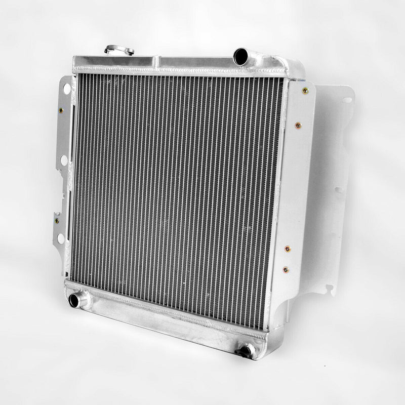 Aluminum Radiator fits Jeep Wrangler YJ TJ fat sideband on driver side 1987-2007