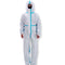 FITS L Disposable Overalls Protective Suit for Painting Jumpsuit Hooded Boots