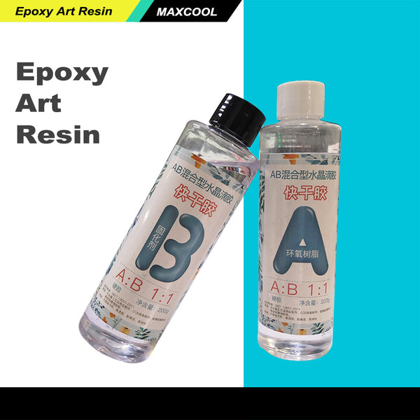 High transparent AB crystal epoxy glue DIY epoxy flower specimen hard plastic