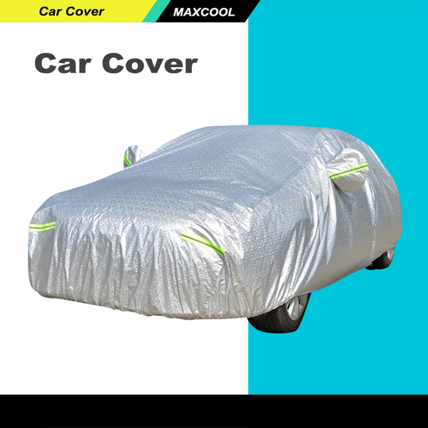 Fits Full Car Cover 3x Layers Aluminum Waterproof Rain UV Resistant Protect  YL