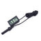 FITS LCD Meter Temperature Humidity Thermometer Hygrometer Vivarium Reptile
