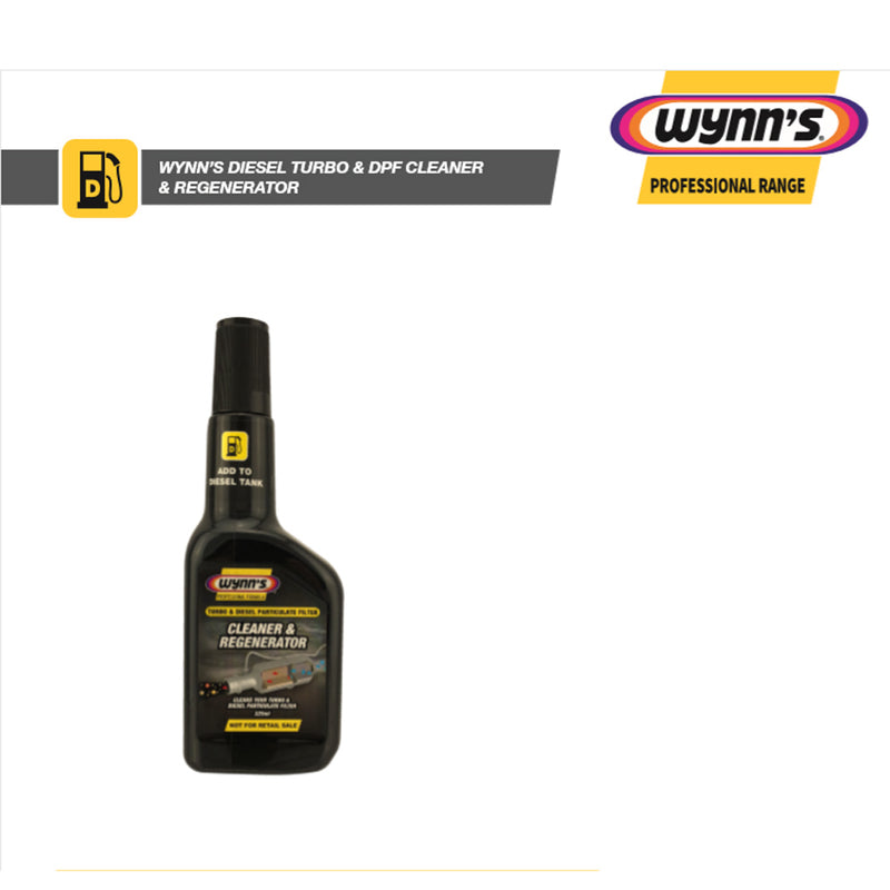 WYNNS diesel particulate filter cleaner & Regenerator 325mL