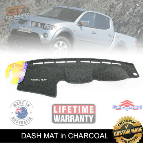 DASH MAT Fits Mitsubishi Triton ML 07/2006-ON + MN GLX-R GL 9/2009-1/2014 DM1016
