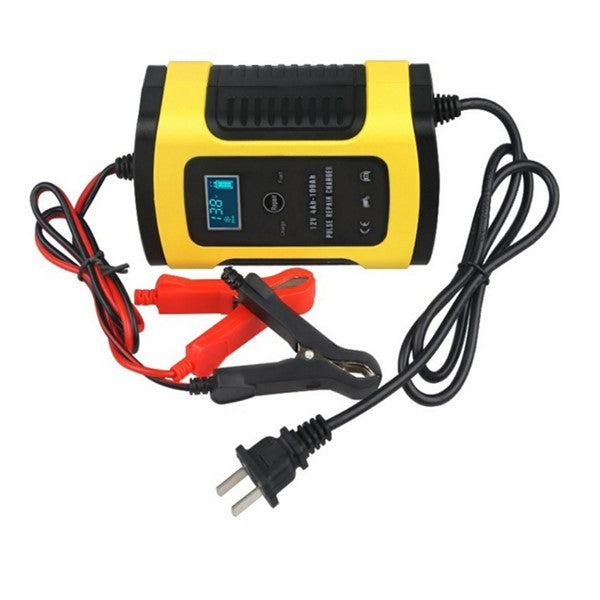 FITS OZ 12V 6A Model 6 Stage Trickle LCD Battery Charger Bike Car Motorcycle Boat JD