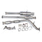 "FIT 92-06 SUBARU IMPREZA GC8 GDA WRX STI DECAT STAINLESS STEEL 3"" EXHAUST SYSTEM"