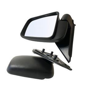 FITS Pair MAZDA B-SERIES BRAVO/FORD COURIER PE,PG&PH UTE MANUAL SIDE DOOR MIRROR