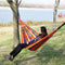 FITS 80KG Double Hanging Hammock Outdoor Garden Travel Beach Swinging Bed Camping