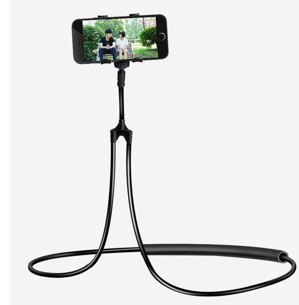 Fits Lazy Neck Bracket Mount Stand Flexible 360° Clip Mobile Phone Holder